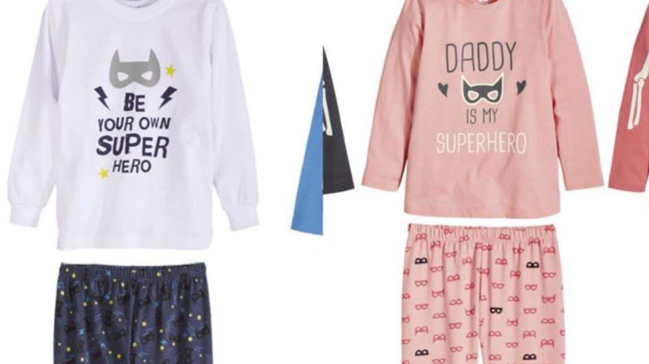 Sexistische Pyjamas für Kinder? Discounter LIDL erntet Shitstorm