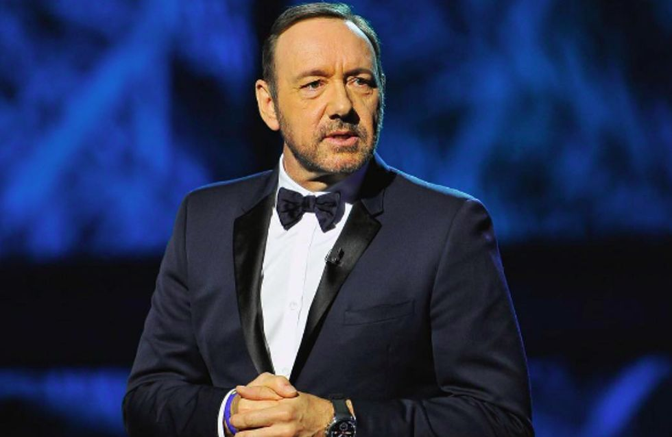 Kevin Spacey declara ser gay tras ser acusado de acoso sexual