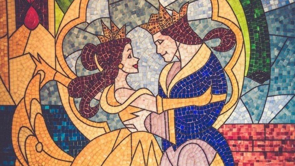 """Scarpe da sposa ispirate a """"La Bella e la bestia"""": così belle da togliere il fiato!"""
