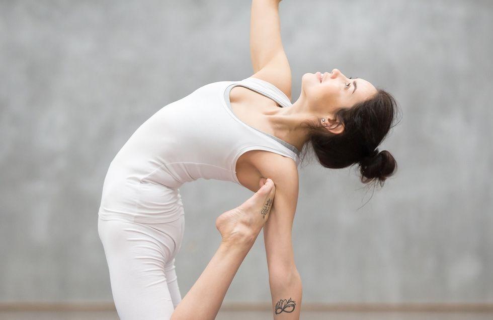 Yoga pilates: 4 esercizi facili per ridurre la cellulite