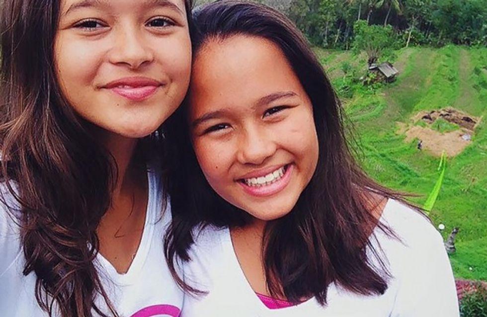 Deux jeunes filles bannissent à jamais le sac plastique de Bali