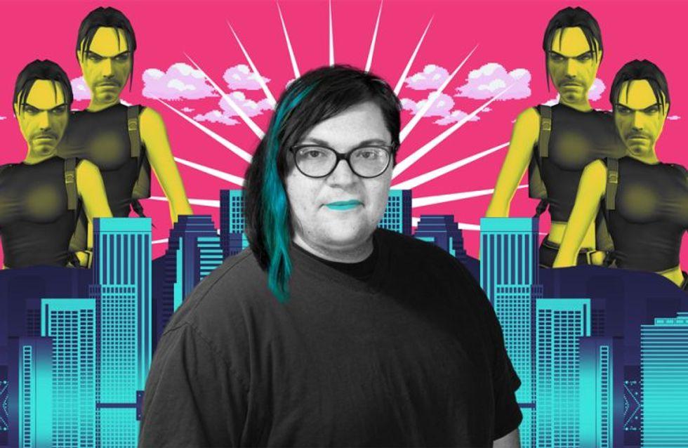 Anna Anthropy, conceptrice de jeux vidéo et queer assumée