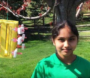 Une indienne de 13 ans invente un système d<U+0092>énergie renouvelable pour 5 d