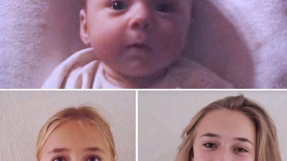 18 Jahre im Zeitraffer: Dieser Vater filmt seine Tochter jeden Tag