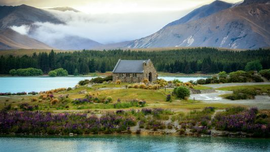 Iglesia del Buen Pastor, Nueva Zelanda