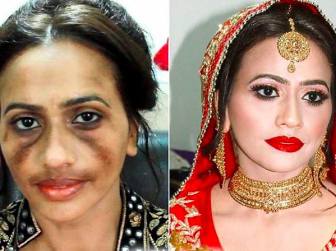 Les transformations faites par Sadaf Wassan