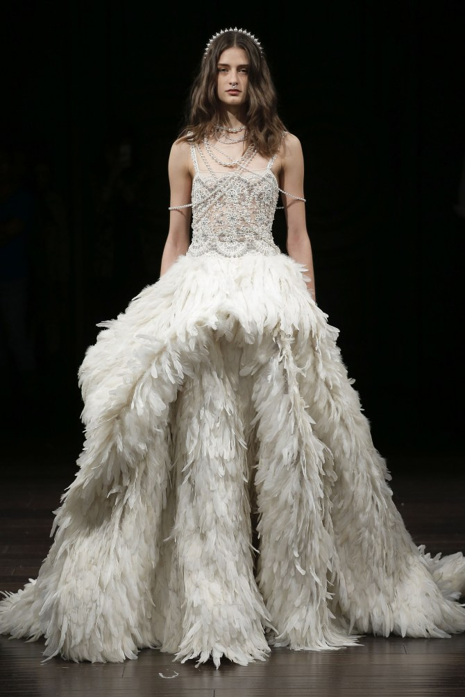 Naeem Khan New York Bridal Week Primavera Verano 2018