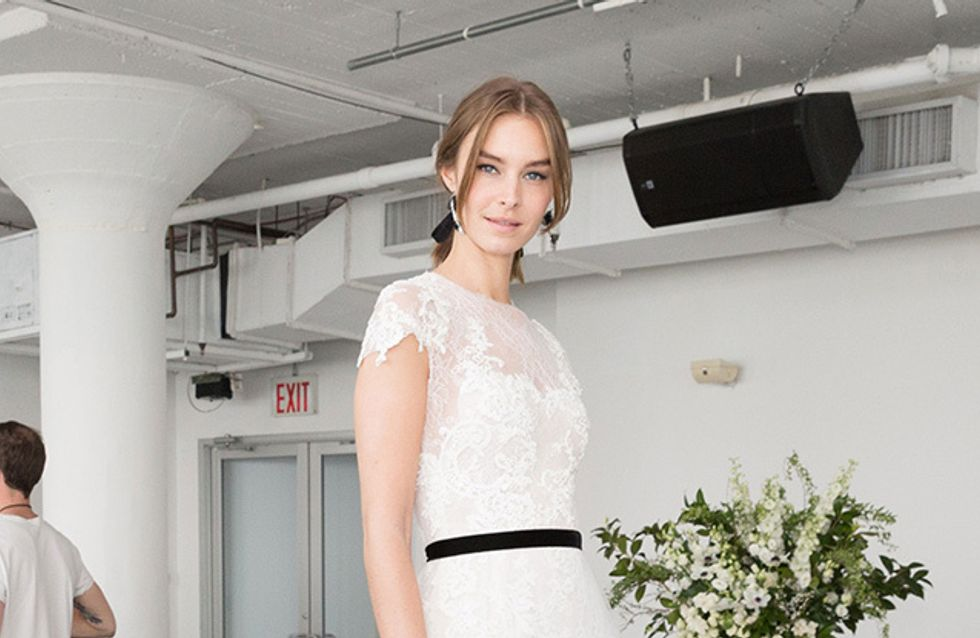 Los vestidos más espectaculares de la New York Bridal Week primavera verano 2018