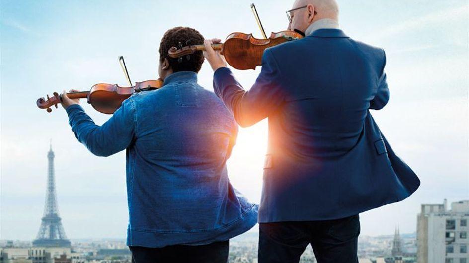 """Kad Merad est un professeur de violon attachant dans """"La Mélodie"""""""