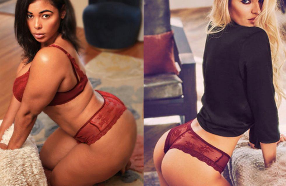Ce mannequin plus size recrée les publicités Victoria's Secret et c'est GENIAL (Photos)