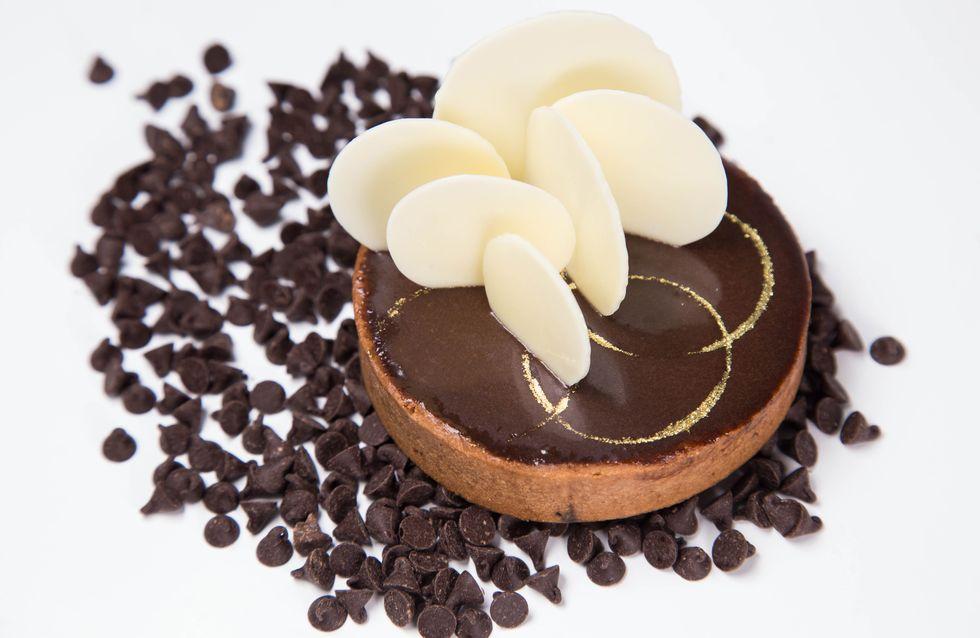 La recette de l'irrésistible tarte au chocolat noir