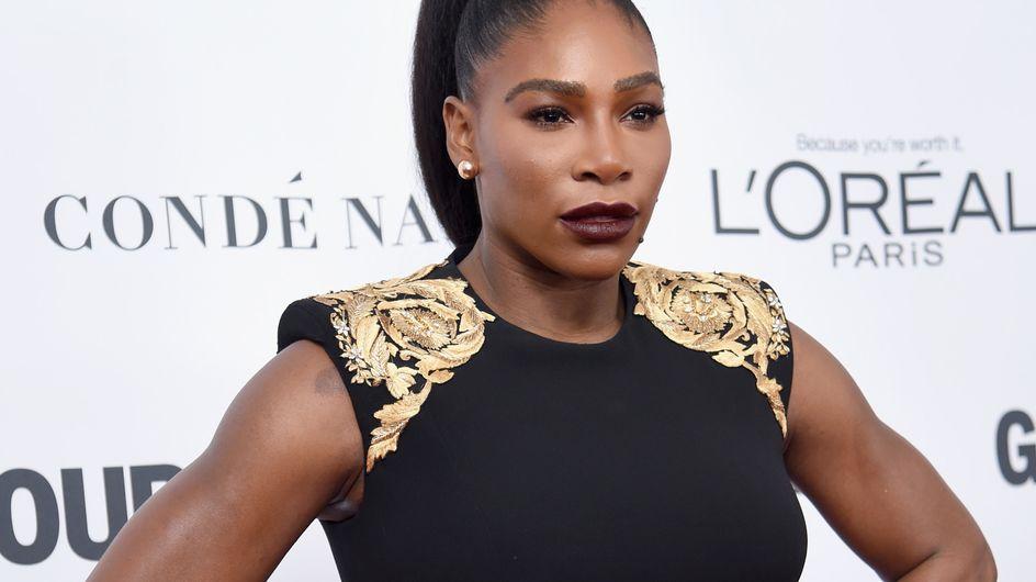 Serena Willliams fait l'unanimité dans une petite robe noire moulante (Photos)