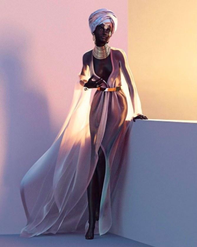 Le mannequin Shudu