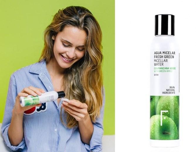 FRESHLY COSMETICS Acqua Micellare Fresh Green - 14 euro