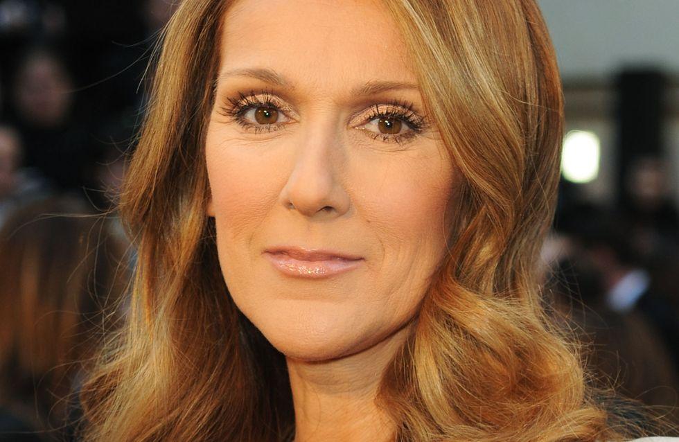 Céline Dion, toujours aussi chic et stylée en mini-robe noire (Photos)