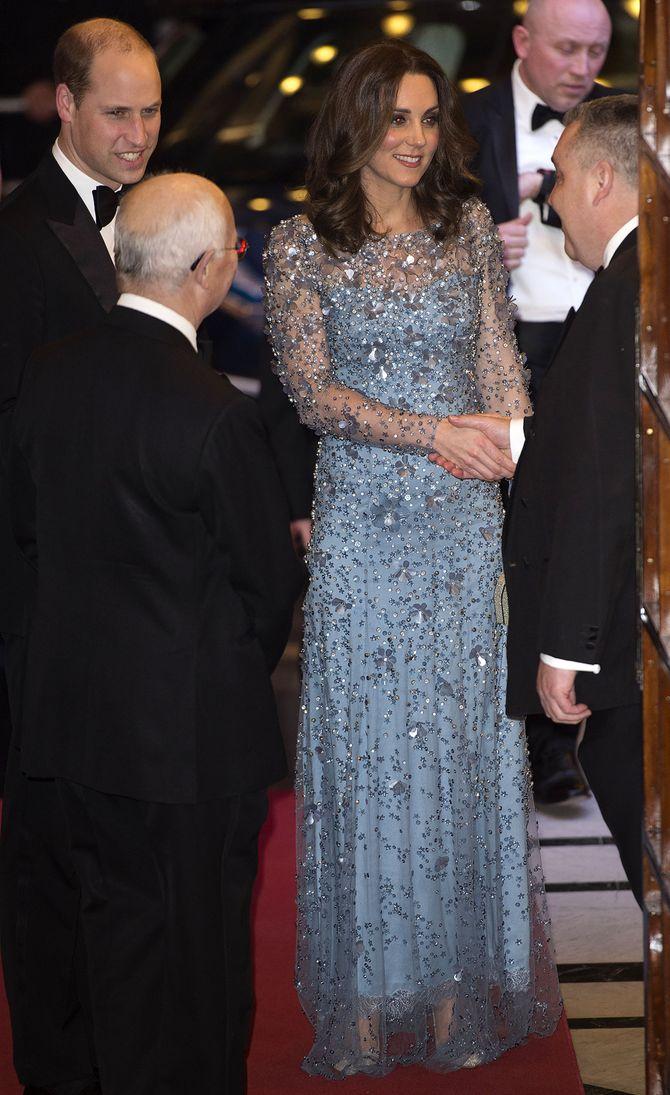 Kate Middleton et le prince William au London Palladium