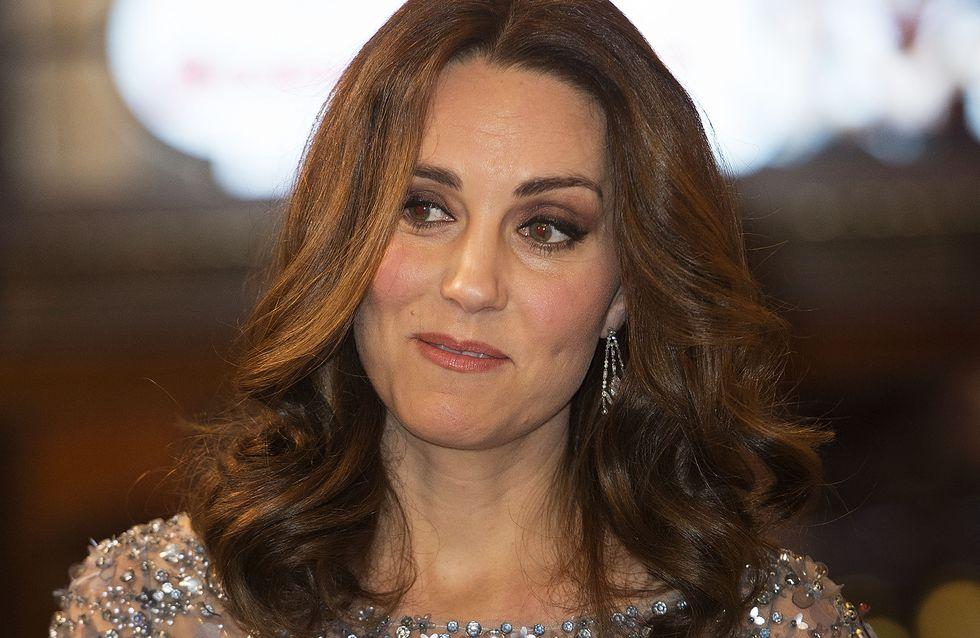 Kate Middleton, future maman resplendissante avec un look façon Reine des neiges (Photos)