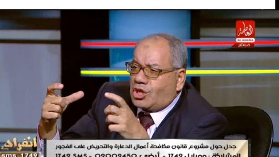 """Intolérable ! Selon cet avocat égyptien, """"violer une femme en jean troué"""" est un """"devoir national"""""""