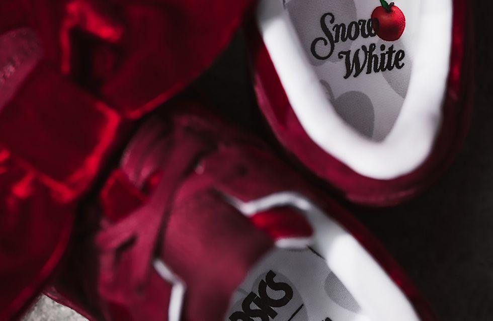 Sono arrivate le sneakers ispirate a Biancaneve che ci fanno impazzire!