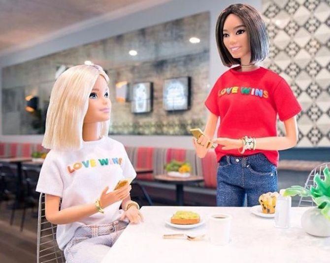 Barbie devient militante de la cause LGBT et on applaudit !