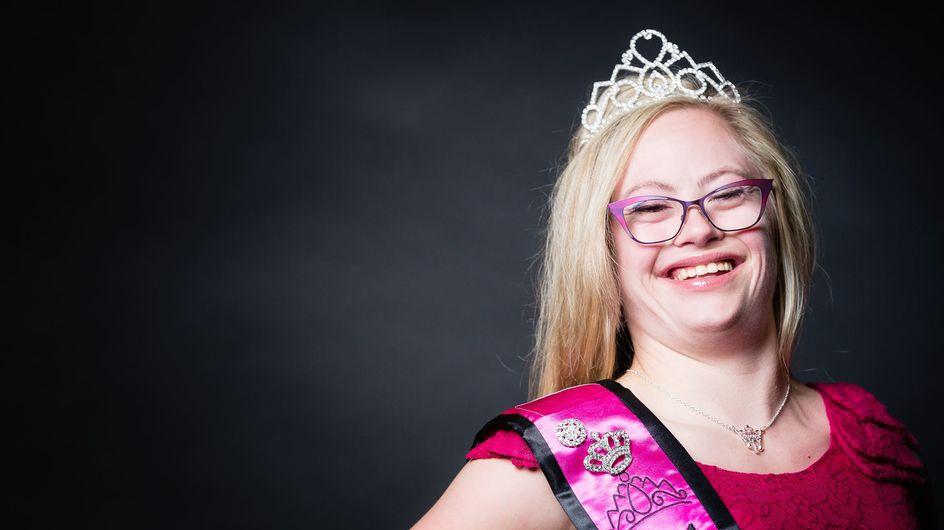 Inspiration des Tages: Frau mit Downsyndrom überzeugt bei Miss-Wahl