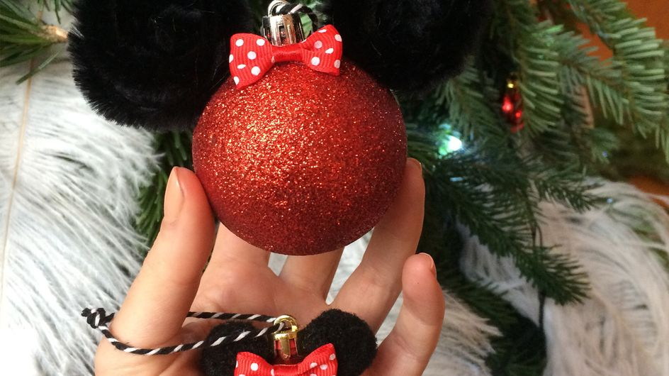 On a créé les plus belles boules de Noël Disney (DIY)