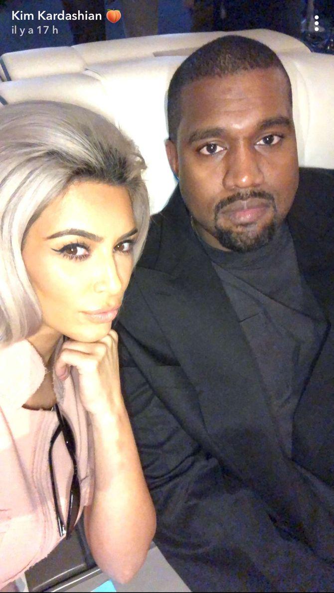 Kim Kardashian le 30 décembre sur Snapchat