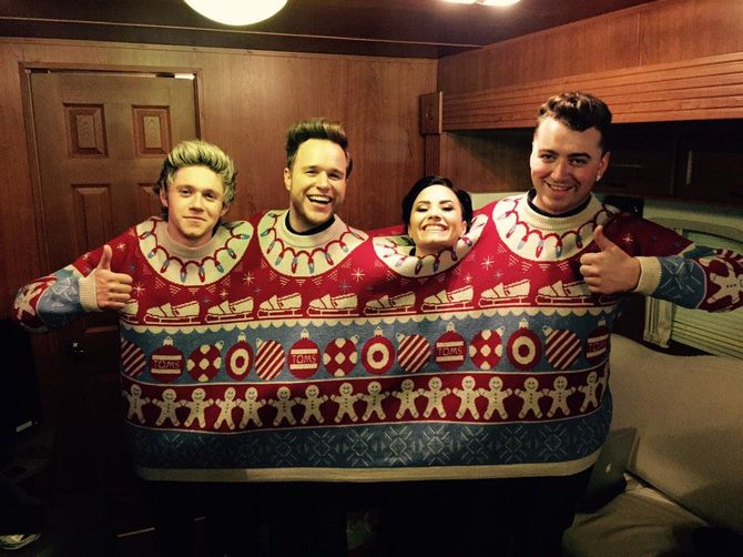 Niall Horan, Olly Murs, Demi Lovato et Sam Smith