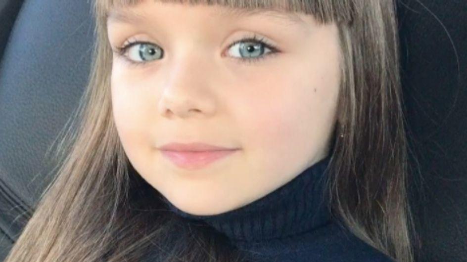 """Voici Anastasiya, la nouvelle """"plus belle petite fille du monde"""" (Photos)"""