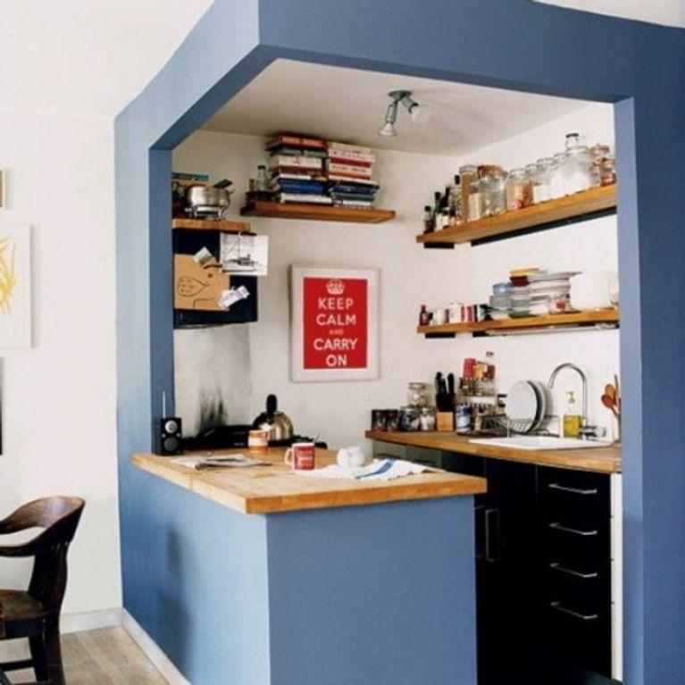6 astuces pour petites cuisines for Cuisine pour petit espace