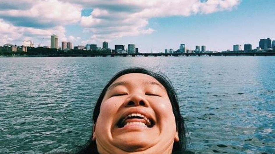 """Le """"chinning"""" ? la nouvelle tendance Instagram qui nous décomplexe ! (photos)"""