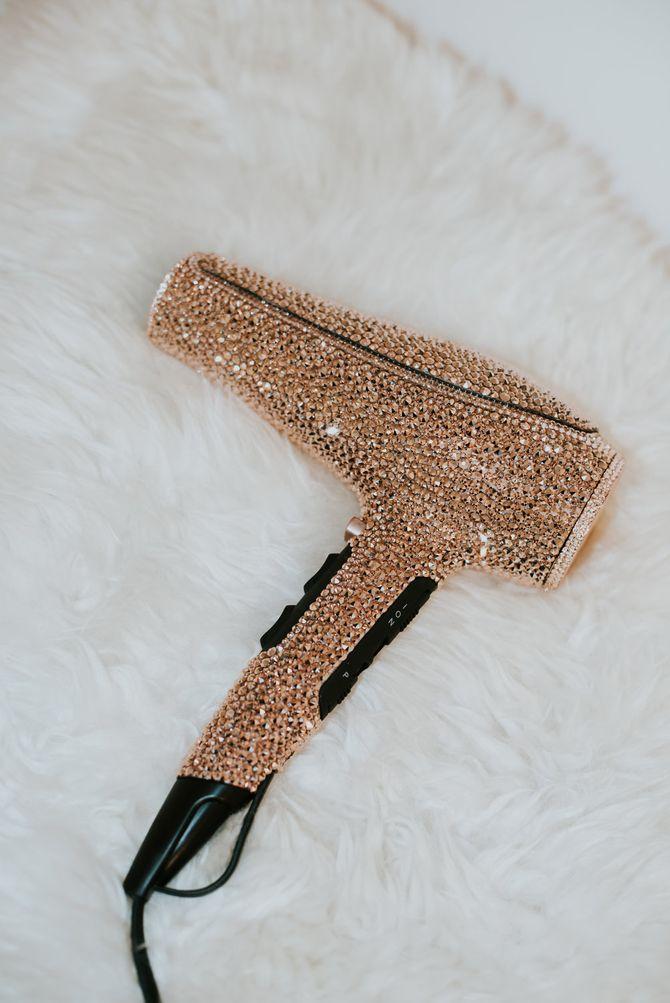 Le sèche-cheveux Prête x Swarovski