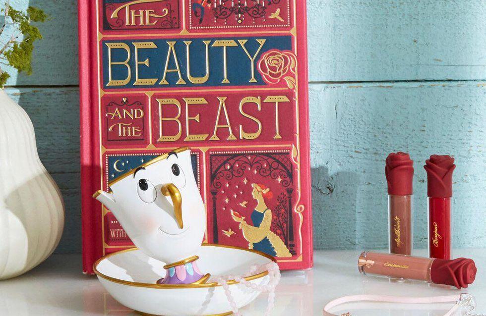 Cette marque lance de sublimes rouges à lèvres La Belle et La Bête et vous allez adorer ! (Photos)