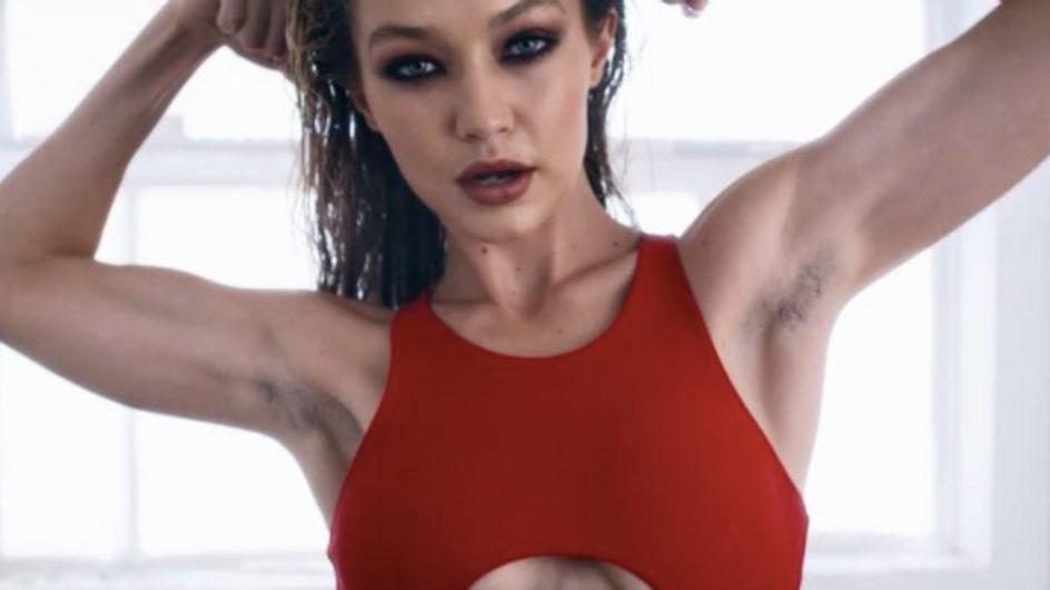 Gigi Hadid assume ses aisselles non-épilées pour LOVE Magazine