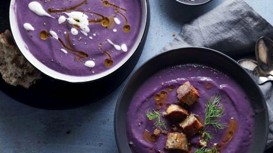 Lila Suppe: Der beliebteste Food-Trend in diesem Winter!