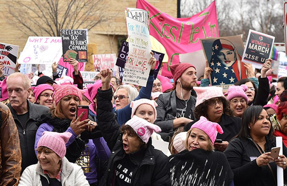 """""""Féminisme"""" élu mot de l'année 2017 aux Etats-Unis"""