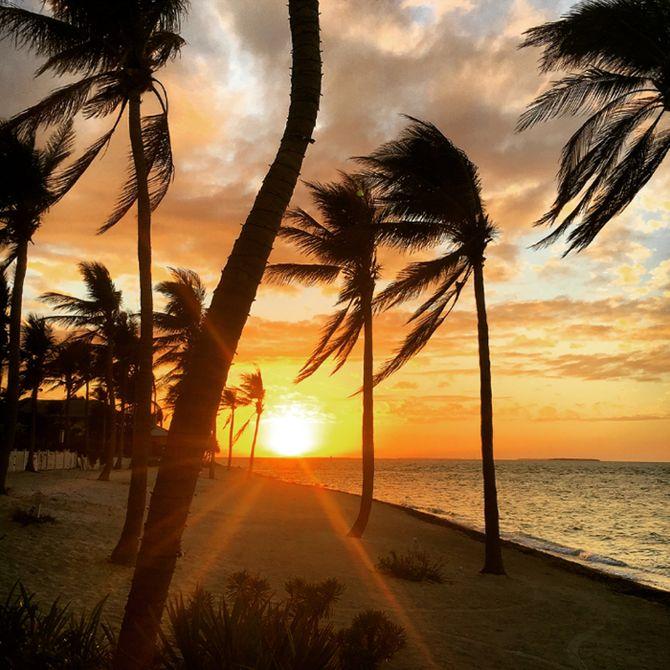 Sonnenuntergang auf Sunset Key