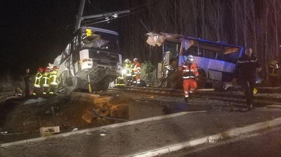 5 enfants ont perdu la vie dans la terrible collision d'un bus scolaire et d'un train à Millas
