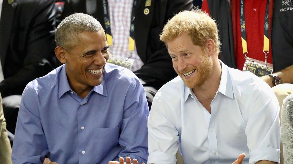 Quand le Prince Harry interviewe Barack Obama (vidéo)