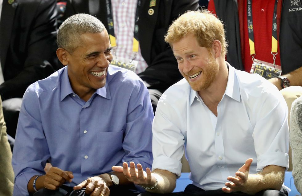 Quand le Prince Harry interviewe Barack Obama (vidéo)