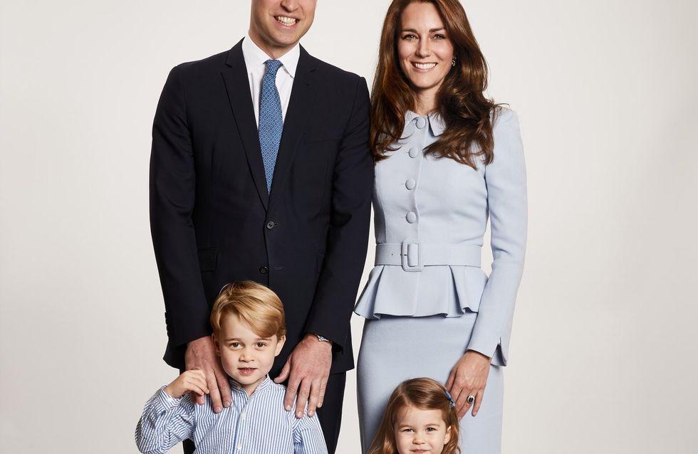 La foto degli auguri di Natale dei reali inglesi: scusa Kate, ma la pancia dov'è?