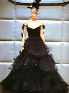 Abito Valentino Claudia Schiffer