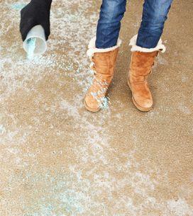 Perché il sale scioglie il ghiaccio?