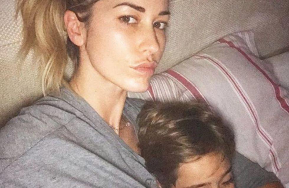 Elena Santarelli parla via social del figlio malato: Un pugno allo stomaco