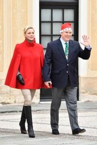 Charlène de Monaco et le Prince Albert II