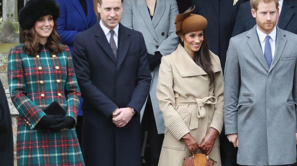Kate Middleton et Meghan Markle très élégantes pour leur tout premier Noël en famille