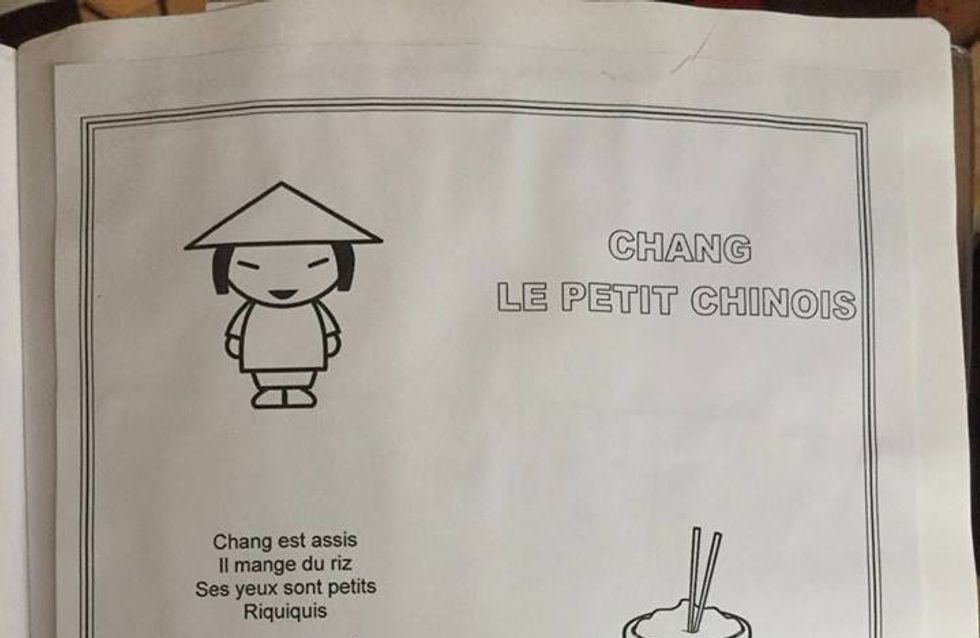 """""""Chang est assis, il mange du riz"""" la comptine qui fait scandale"""