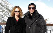 Vanessa Paradis, en bottes et gros manteau pour affronter la neige en amoureux (