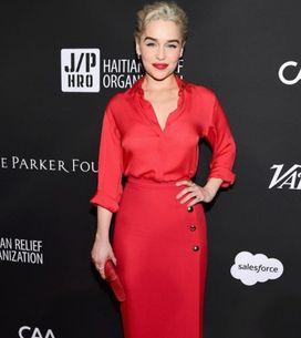 Emilia Clarke, ses deux looks sexy et rétro en une même soirée !