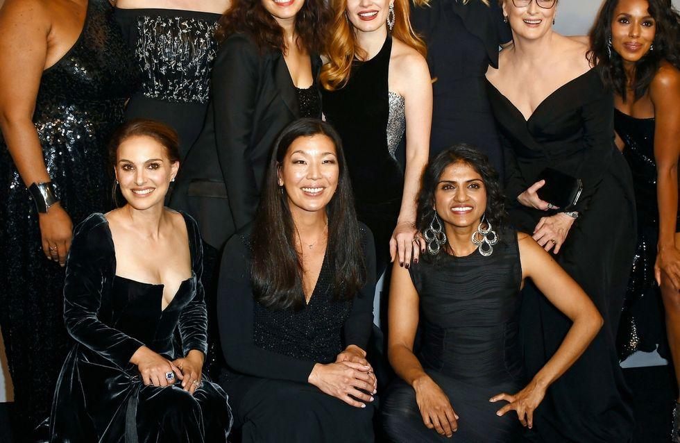 Le star vestite di nero ai Golden Globes contro le molestie sessuali